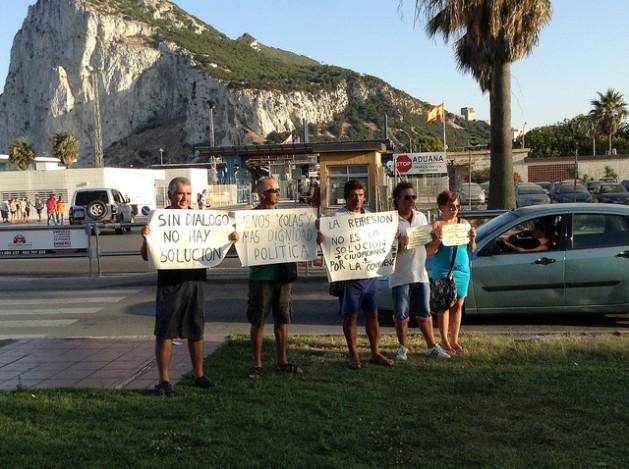 trabalhadores1 Trabalhadores espanhóis vítimas de disputa entre Madri e Gibraltar