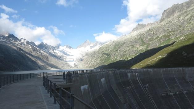 represa Energia solar alemã sufoca a hidráulica suíça