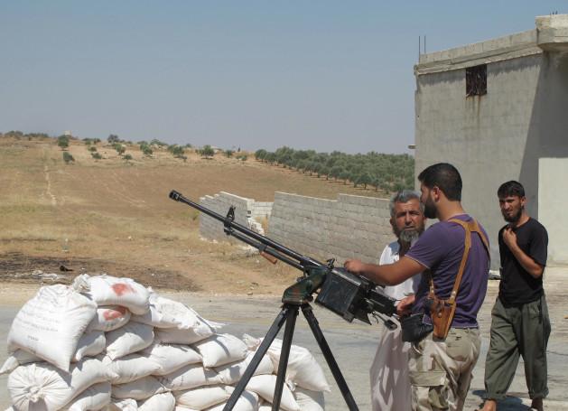 "siria640 ""Interrogando"" um combatente de Al Assad"