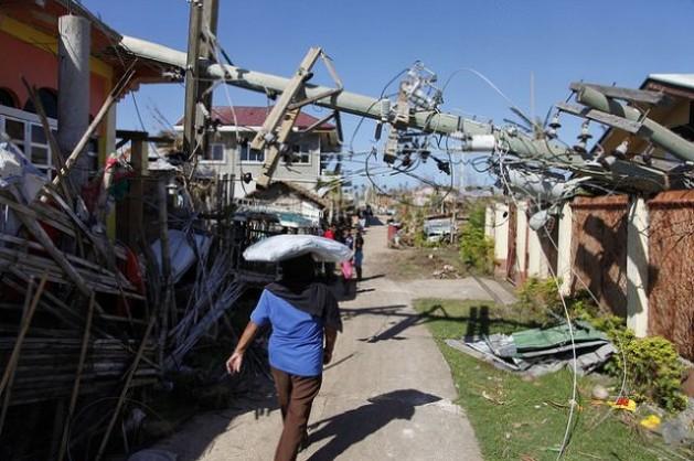destruicao Como evitar que as Filipinas se convertam em outro Haiti?