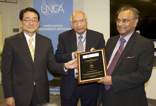 premio chica1 IPS entrega prêmio a defensor da abolição nuclear