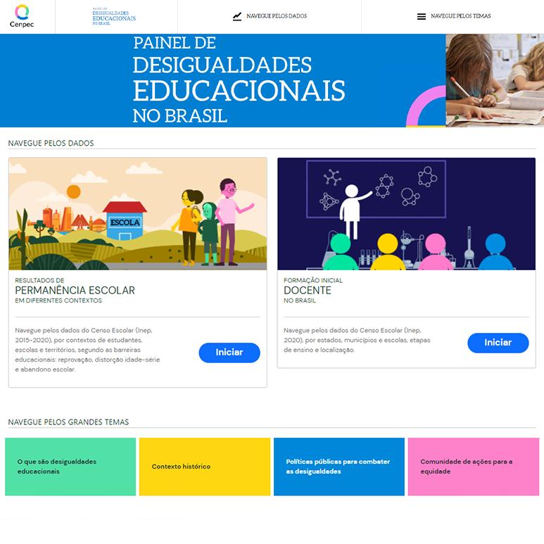 Painel de desigualdades educacionais no Brasil evidencia barreiras que agravam a educação básica do país
