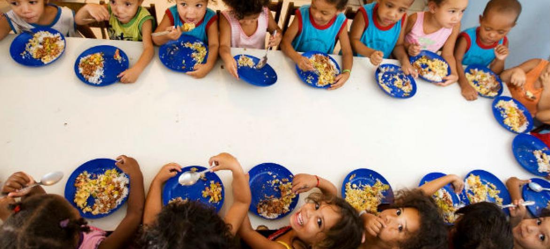 Transformando sistemas alimentares para combater a fome