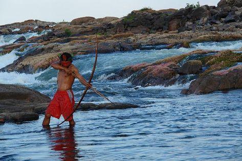 Indígenas do Teles Pires, entre Mato Grosso e Pará, defendem seus direitos emBrasília