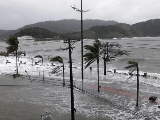 Cidade de Santos é escolhida para piloto sobre extremos climáticos